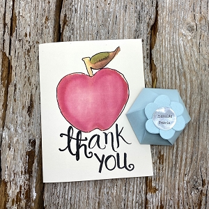 FREE Teacher Thank You Card with your personal message